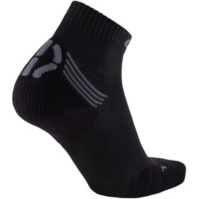 UYN Run Veloce Calcetines Mujer, black/grey